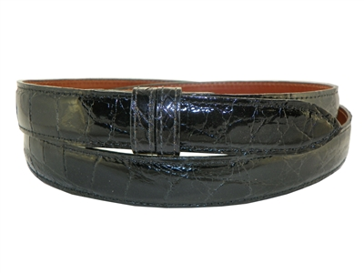 Alligator Belt 1 Strap for Tiffany Slide Buckle